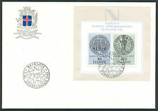 Historical Events Used Icelandic Stamps