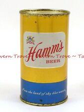 Clean! 1950s MINNESOTA St Paul HAMM'S BEER 12oz Flat Top Tavern Trove