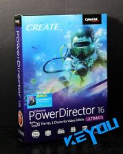 Cyberlink PowerDirector 16 Ultimate Free AudioDirector 7 include @NEW@