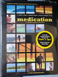 Medication: A Surf Film Starring Taylor Knox DVD 2007 New/Sealed
