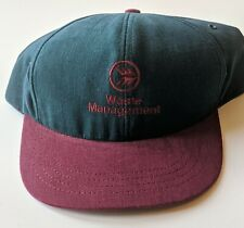 Waste Management Snapback Hat Cap Great Condition