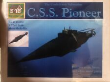 Cottage Industry CSS Pioneer The Confederate Submarine 1/32 FS NEW Resin Model