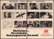 WORLDVISION__Original 1977 Trade Print AD / TV promo__KING KONG__CASPER cartoons