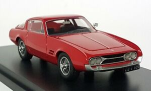 Bos 1/43 Scale - 43315 Fiat Ghia 230S Red 1963 Resin model Car
