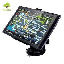 """7"""" Car GPS 8gb SAT NAV Navigation System FM SpeedCam POI UK EU Map Travel"""