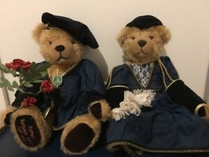 Romeo and Juliet Hermann mohair bear limited edition