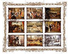 COREA colección 9 Sellos: Historia real de Europa ,La monarquía BX16A