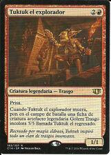 mtg Magic 1x Tuktuk the Explorer ( Tuktuk el explorador ) Spanish Excellent