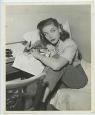 Lauren Bacall Photo 1945 Publicity Candid Photo Warner Bros Original Vintage