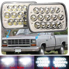 "7x6""LED Headlight Sealed Beam For Dodge D150 D250 D350 D100 W150 W350 Ramcharger"
