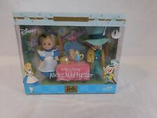 Disney Alice in Wonderland + Mad Hatter Kelly & Tommy Tea Time Barbie Collection