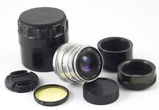 INDUSTAR 26m F2.8 50mm 10 BLADES m39 LENS CANON NIKON FX NX MFT SONY MINT OPTICS