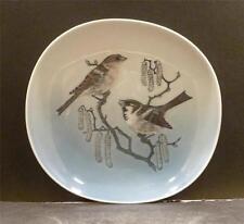 Royal Copenhagen, Denmark, Plate With Birds - MINT