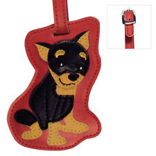 Mini Pinscher Luggage Tag