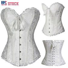Women Bustier Lingerie Waist Corset Dress Cincher Trainer Shapewear Steampunk US