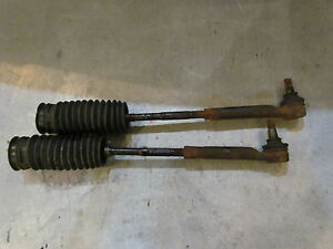 2004 Subaru Forester XT Tie Rod Ends Inner And Outer