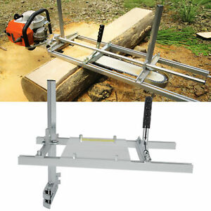 Chainsaw Mill Attachment Lumber Milling Planking Cutting Any Length Log ESE-UK