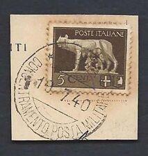 POSTA MILITARE 1940 Frammento da PM Concentramento Roma (FM8)