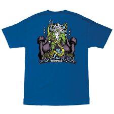 Santa Cruz Jason Jessee Neptune Skateboard T Shirt Royal Blue Xxl
