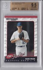 2001 Donruss Rookies Mark Prior Graded BGS 9.5