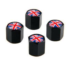 4pcs Car Wheel Tire Valve Stem Air Cap UK Flag Logo