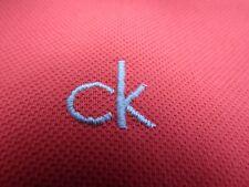 "Calvin Klein ""CK"" GOLF Men's Large Performance Stretch Polo T-Shirt  46"" Chest"