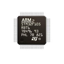 1Pcs STM32F105RBT6 Microcontroller 32 Bit CORTEXM3 128K Flash Memory LQFP-64