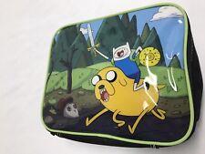 Adventure Time cartoon network lunch bag soft box lunchbag kid child Finn Jake