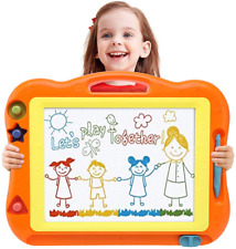 Magnetic Drawing Board Doodle Pad Toddler Toys for Boys Girls 17 Inch Erasable