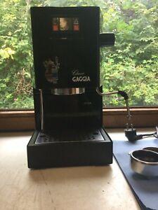 Gaggia Classic 2002er Modell schwarz