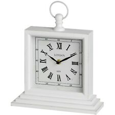 ANTIQUE EFFECT SQUARE TABLE CLOCK - IDEAL TIME PIECE FOR MANTELS OR TABLE TOPS
