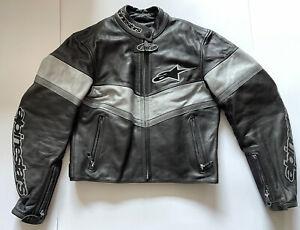 Alpinestars Ladies Leather Motorcycle Jacket Stunning Condition! Size Uk 8-10