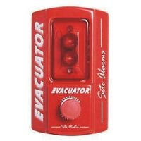 NEW SITE ALERT BATTERY OPERATED SITE FIRE ALARM CALL POINT SITE ALERT