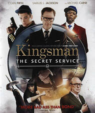 Kingsman The Secret Service [Blu-ray and DVD 2014] w slipcover - No Digital Copy