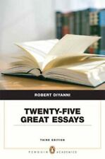 Pearson English Value Textbook: Twenty-Five Great Essays by Robert DiYanni...
