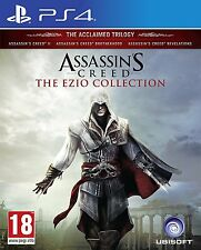 Assassin's Assassins Creed: The Ezio Collection Sony PlayStation 4 PS4 Games New
