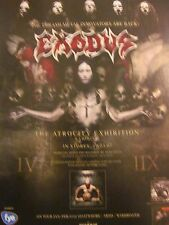 Exodus, The Atrocity Exhibition, Full Page Promotional Ad
