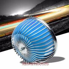 "3.00"" Universal Blue Bar Mesh Mushroom Micro Foam Air Filter For Air Intake"