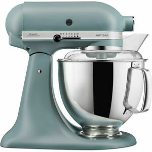KitchenAid 5KSM175 PSBMF 4.8L Artisan Stand Mixer Matte Fog Blue New Sealed