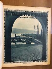 L'ITALIA MARINARA, QUINDICIINNALE ILLUSTRATO - ANNO XXXI, 1930 - ANNATA COMPLETA