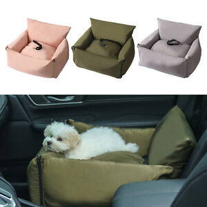 Dog Car Seat Pet Car Booster Seat Soft Carrier Waterproof for S M Dogs Cats