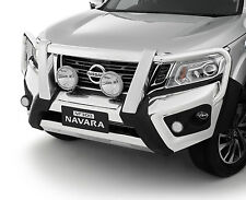 New Genuine Nissan Navara NP300 ST STX 4WD Front Alloy Bullbar