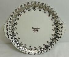 Royal Albert 25th Anniversary Bone China Cake Plate England