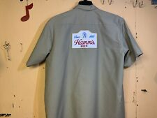 HAMM'S BEER DELIVERY GUY WORK SHIRT RED KAP XXL 🍺🍺🍺🍺🍺🍺🍺🍺
