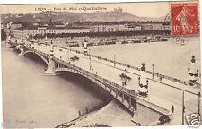 69 - cpa - LYON - Pont du Midi et quai Gailleton ( i 4800)