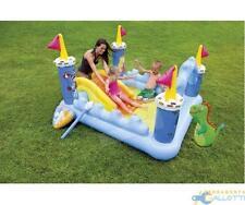 Piscina Hinchable Juegos Para Niños Play Centro Castle Castillo Intex 57138