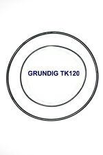 SET BELTS GRUNDIG TK120 REEL TO REEL EXTRA STRONG NEW FACTORY FRESH TK 120