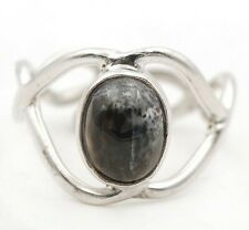 Natural Winter Dendrite Opal 925 Sterling Silver Ring Jewelry Sz 6, ED28-9