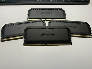 Corsair Dominator Platinum RGB 64GB (4x16gb) DDR4 RAM