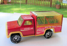 Vintage Scarce BUDDY L COCA COLA DELIVERY TRUCK w/4 Removable bottle cases 1989